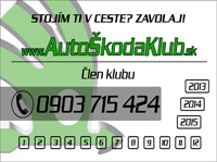nalepka - Auto skoda klub